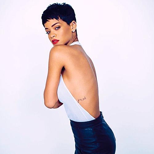 Rihanna for Elle UK April