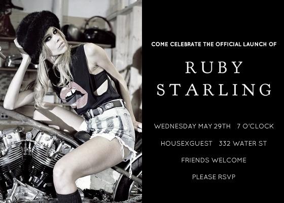 Ruby Starling