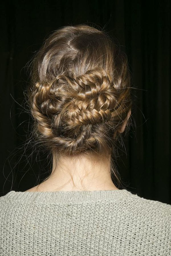 Updo Fish Braid
