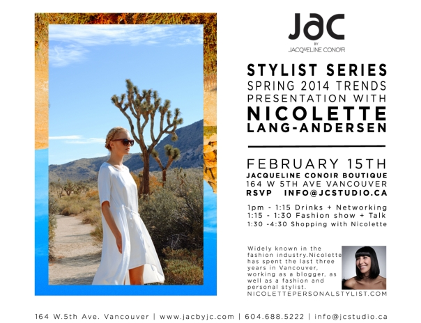 JAC by Jacqueline Conoir Stylist Series